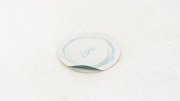 Geschenkaufkleber für Gastgeschenke - Schwarmzeit