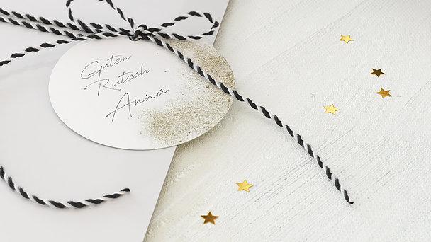 Geschenkanhänger Weihnachten - Wunschliste