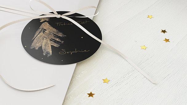 Geschenkanhänger Weihnachten - Magische Funken