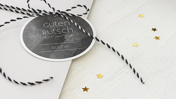 Geschenkanhänger Weihnachten - Weihnachtstafel