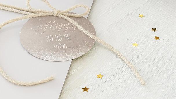 Geschenkanhänger Weihnachten - Zaubernacht