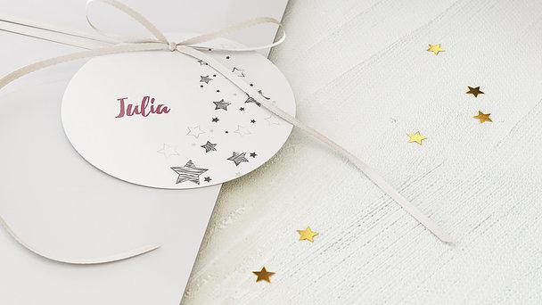 Geschenkanhänger Weihnachten - Sternenflut