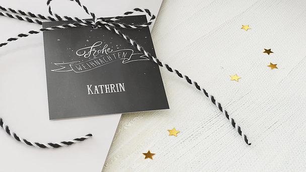 Geschenkanhänger Weihnachten - Zuckerbäcker