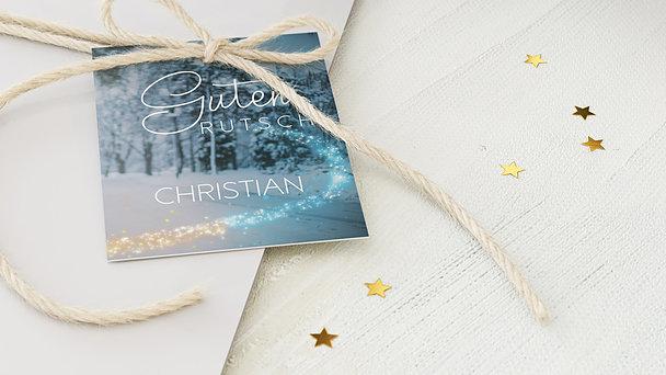 Geschenkanhänger Weihnachten - Weihnachtsmagie