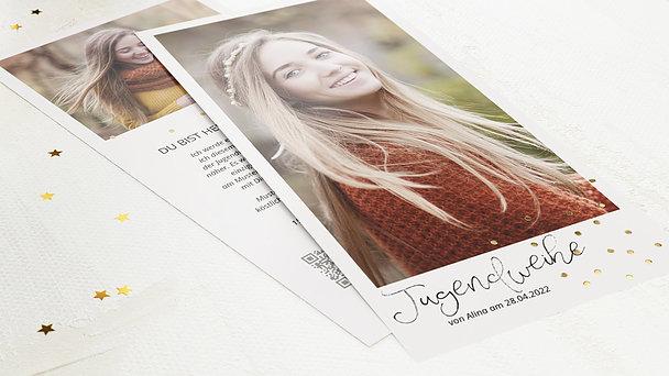 Jugendweihe Karten - Konfettifreude