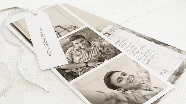 Jugendweihe Karten - Transparent Jugendweihe
