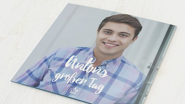 Jugendweihe Karten - Im Mittelpunkt Jugendweihe