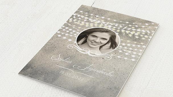 Jugendweihe Karten - Lichterkette