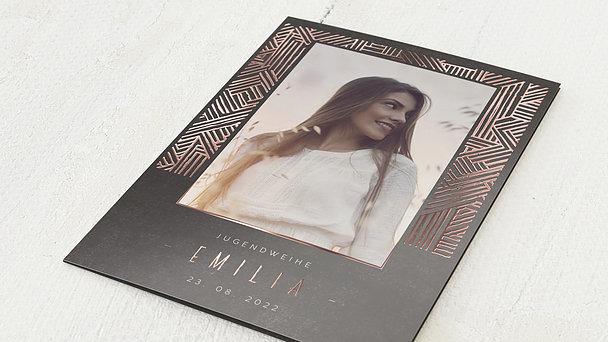 Jugendweihe Karten - Labyrinth