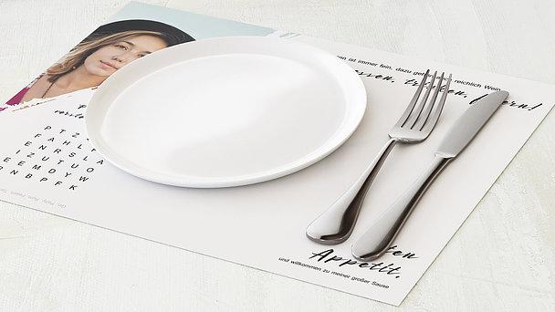 Tischset Geburtstag - Energie