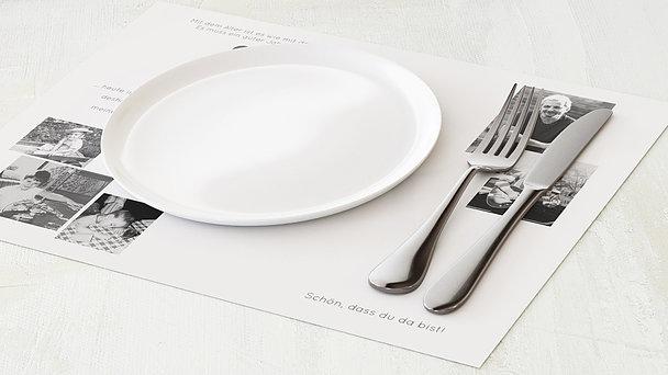 Tischset Geburtstag - Geburtstagsfest