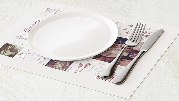 Tischset Geburtstag - Terminsache