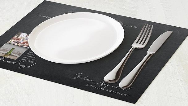 Tischset Geburtstag - Globetrotter