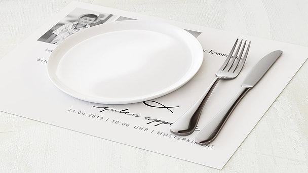 Tischset Kommunion - Liebevolle Kommunion