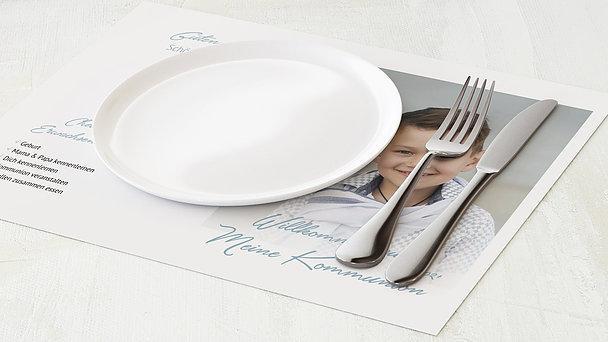Tischset Kommunion - Ganz groß