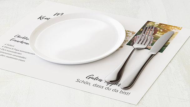 Tischset Kommunion - Gekachelt