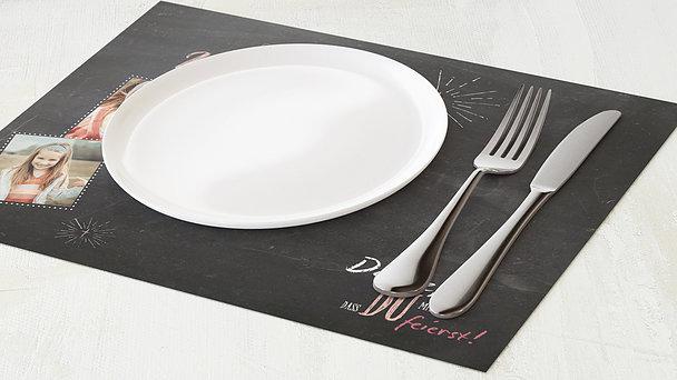 Tischset Kommunion - Ankündigung