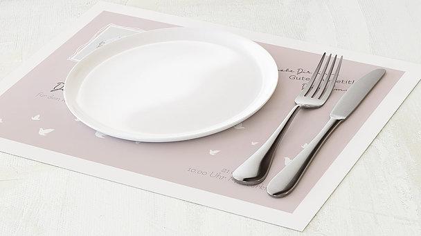 Tischset Kommunion - Ein bisschen Frieden