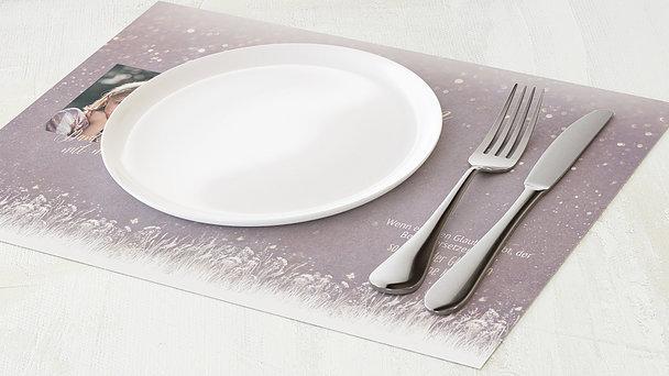 Tischset Kommunion - Zauberlicht Kommunion