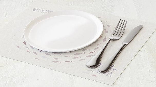 Tischset Kommunion - Freudenwirbel