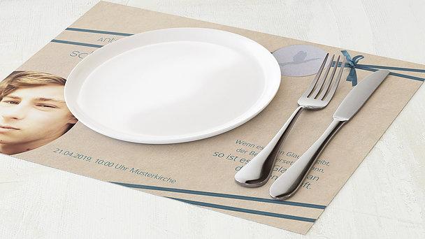 Tischset Konfirmation - Kraftvoll