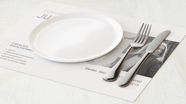 Tischset Jugendweihe - Symbolik