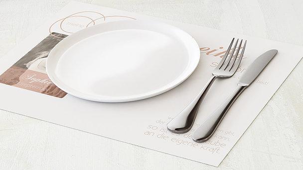 Tischset Jugendweihe - Der größte Tag