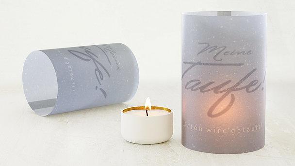 Windlicht Taufe - Neue Wege