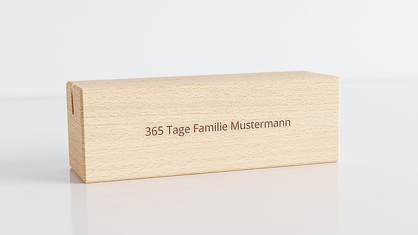 Holzblöcke - Freudentage Tischkalender