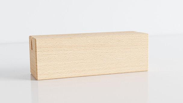 Holzblöcke - Rundes Jahr Tischkalender