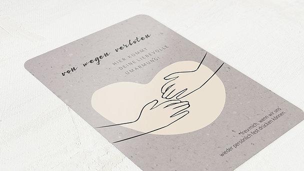 Grußkarten - Ich drück dich