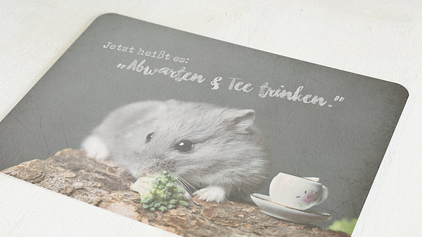 Grußkarten - Tea time