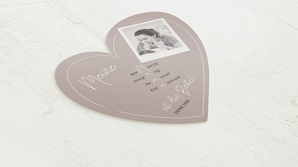 Grußkarten - Liebevolle Botschaft