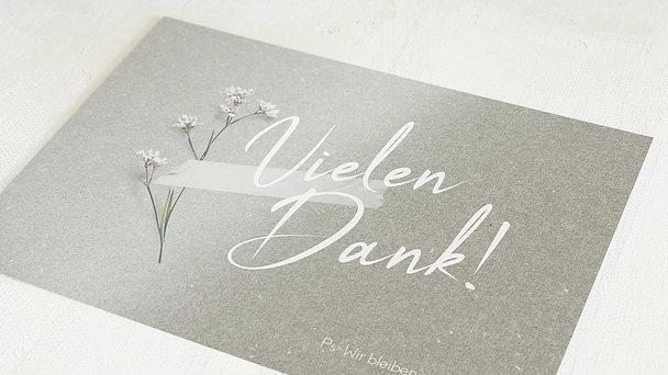 Postkarten - Blümchen für dich
