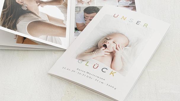 Mini Fotobuch - Unser Glück