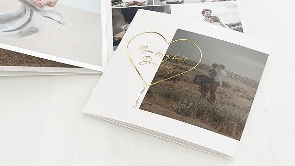 Mini Fotobuch - Zartes Herz