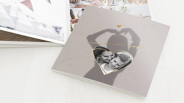 Mini Fotobuch - Herzstand