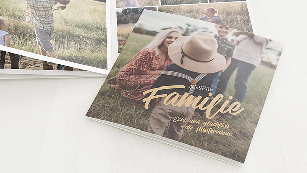Mini Fotobuch - Family feelings