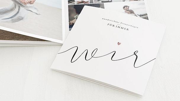 Mini Fotobuch - Für immer wir