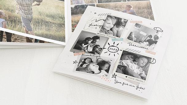 Mini Fotobuch - Achterbahn des Glücks