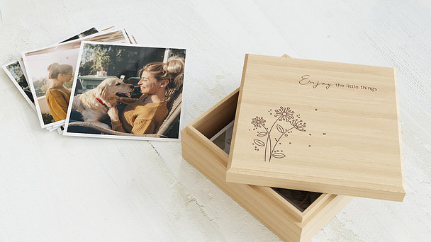 Schuber Retrofotos - Feldblumen