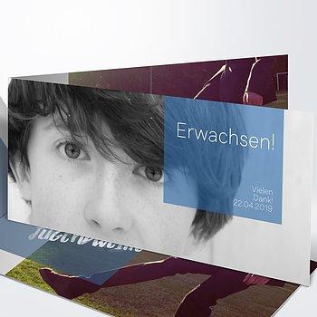 Danksagungen zur Jugendweihe - Cubes