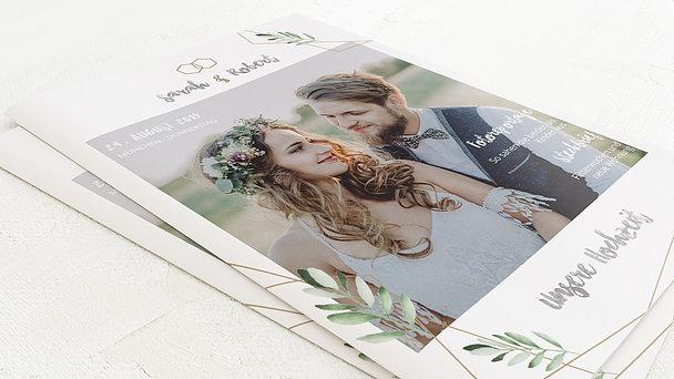 Hochzeitszeitung - Edles Grün Festschrift