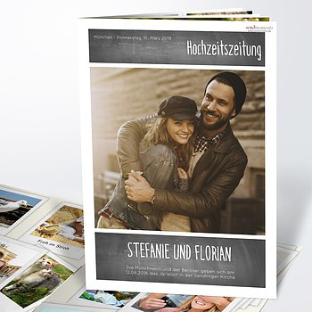 Hochzeitszeitung - Getäfelt Festschrift