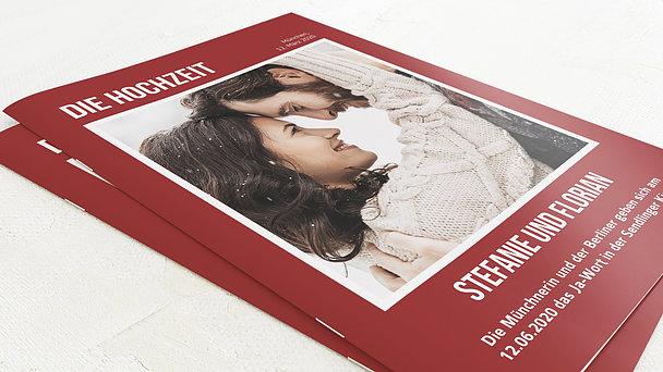 Hochzeitszeitung - Magazin