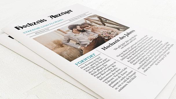 Hochzeitszeitung - Zeitung