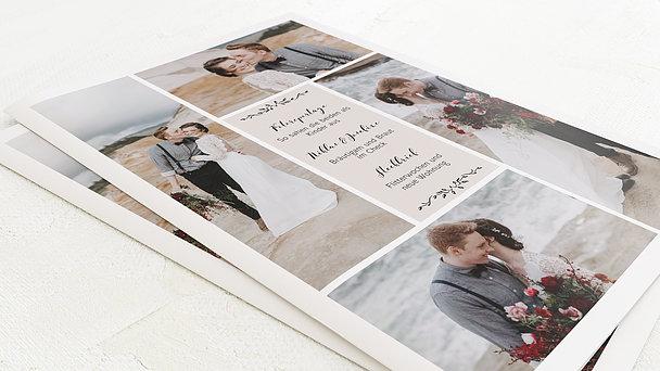 Hochzeitszeitung - Blühende Zeit Festschrift