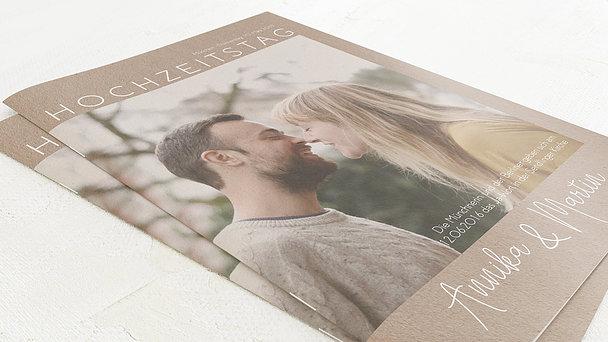 Hochzeitszeitung - Herzflug Festschrift