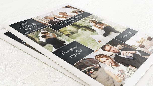 Hochzeitszeitung - Herz & Seele Festschrift