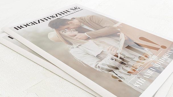 Hochzeitszeitung - Das große Wort Festschrift